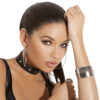 Leather Choker With Studs