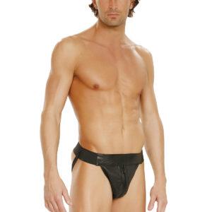 Men'S Leather Jock Strap